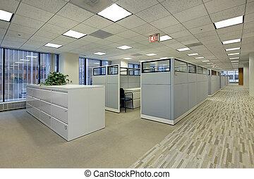 キュービクル, オフィス, 区域