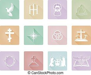 キリスト教徒, アイコン