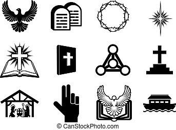キリスト教徒, 宗教 アイコン