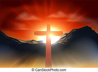 キリスト教徒, 概念, イースター, 交差点
