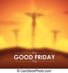 キリスト, はりつけ, イエス・キリスト, 金曜日, よい