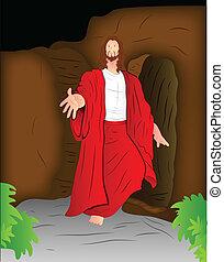 キリスト, イラスト, イエス・キリスト