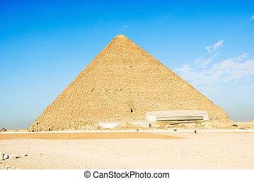 ギザ, ピラミッド, khufu, 偉人