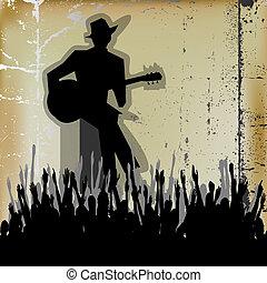 ギター, ブルース, concer