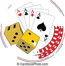 ギャンブル, イラスト