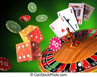 ギャンブル, ゲーム