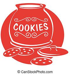 クッキー, 芸術, クリップ