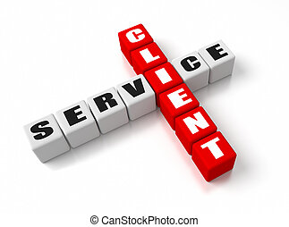 クライアント, サービス