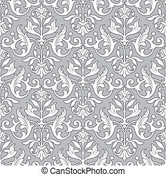 クラシック, パターン, 壁紙, -, seamless, 花