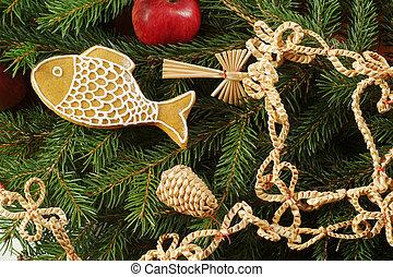 クリスマスの 装飾, 伝統的である