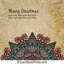クリスマスカード, 装飾