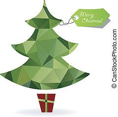 クリスマス, シンボル, 木