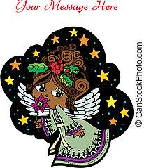 クリスマス, 天使, custom3