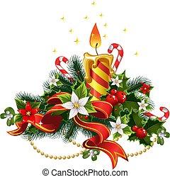 クリスマス, 蝋燭 ライト