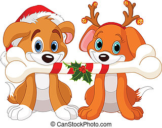 クリスマス, 2, 犬