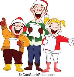 クリスマス carolers