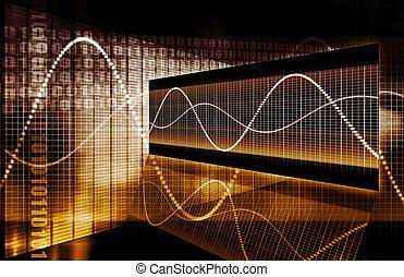 グラフ, 技術, 金融, スプレッドシート