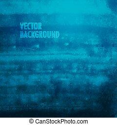 グランジ, texture., 水彩画, ブラシをかけられる, ベクトル, バックグラウンド。, インク
