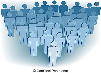 グループ, 人々, 会社, ∥あるいは∥, 会衆, 人口, シンボル, 3d