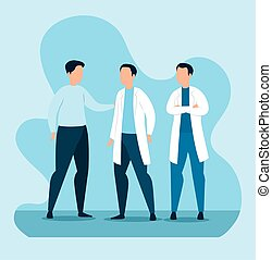 グループ, 医者, 特徴, 人, avatar