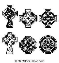 ケルト, アイルランド, スコットランド, 交差点