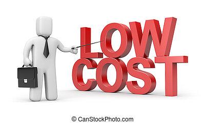 コスト, 低い