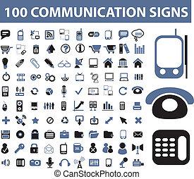 コミュニケーション, サイン, 100