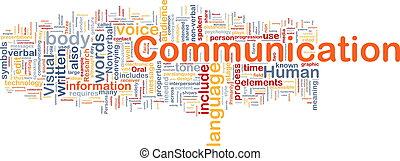 コミュニケーション, 概念, 背景