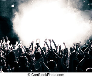 コンサート, 群集