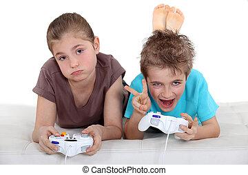 コンピュータゲーム, 子供たちが遊ぶ