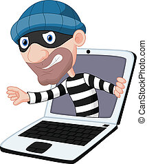 コンピュータ, 漫画, 犯罪