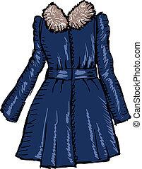 コート, 女性