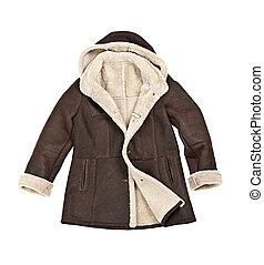 コート, 羊皮, 冬