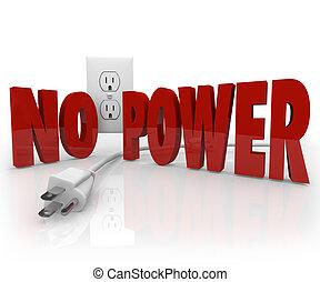 コード, 力, 電気, outage, 電気 出口, 言葉