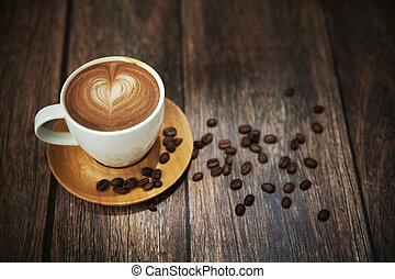 コーヒーカップ, シュート, 偉人