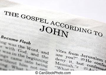 ゴスペル, ジョン