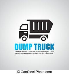 ゴミ捨て場, シンボル, トラック