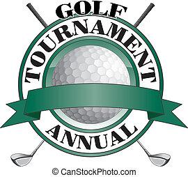 ゴルフ, トーナメント, デザイン