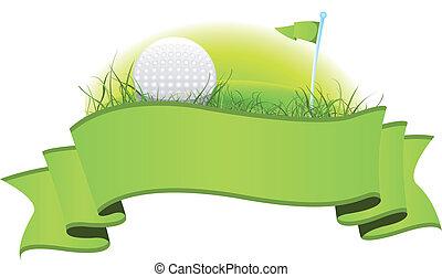 ゴルフ, 旗