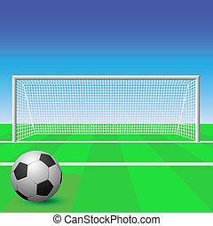 サッカーの 目的