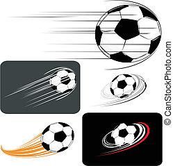 サッカー, clipart