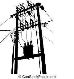 サブステーション, 変圧器, 電気である