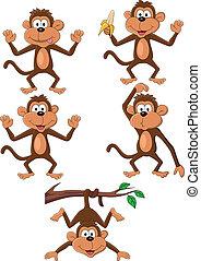 サル, 漫画