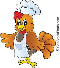 シェフ, 鶏, 漫画