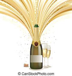 シャンペン, 祝いなさい, 背景