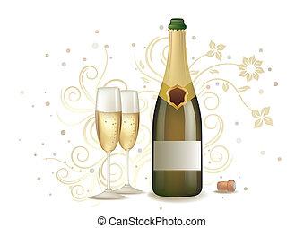 シャンペン, 祝福