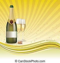 シャンペン, 背景