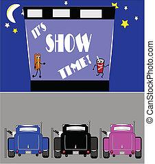 ショー, ドライブしなさい, 時間