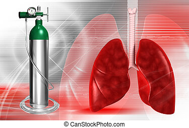 シリンダー, 酸素