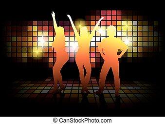 シルエット, ダンス
